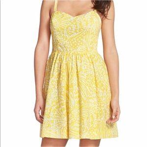 LILLY PULITZER Dress Yellow Sea Shells 2